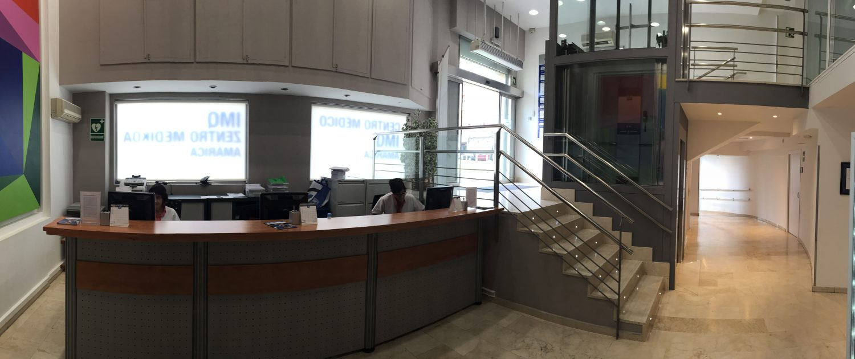 Centro IMQ Amárica. Recepción